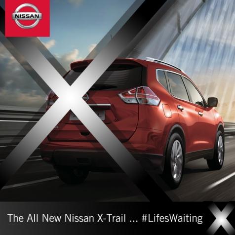 Nissan X-Trail post